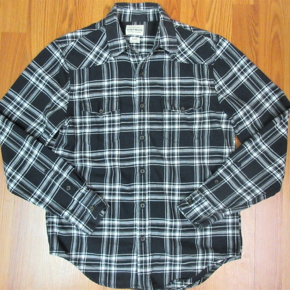 Lucky Brand Other - LUCKY BRAND REGULAR FIT Mens 100% COTTON FLANNEL